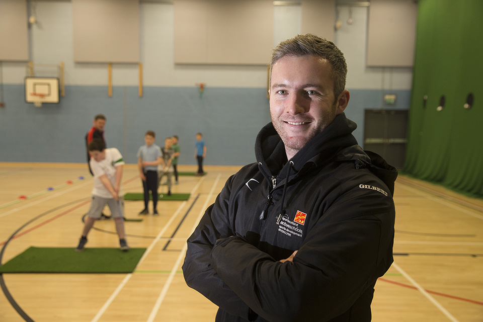 Robbie Cuthbert, Community Sport Hub Development Officer for Inverclyde