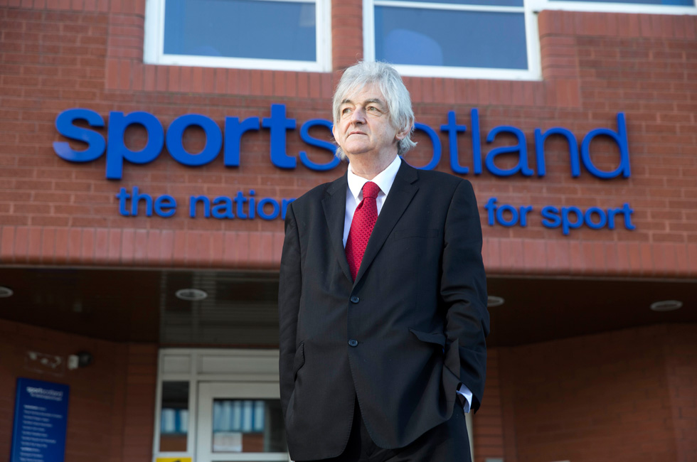 Mel Young chair of sportscotland