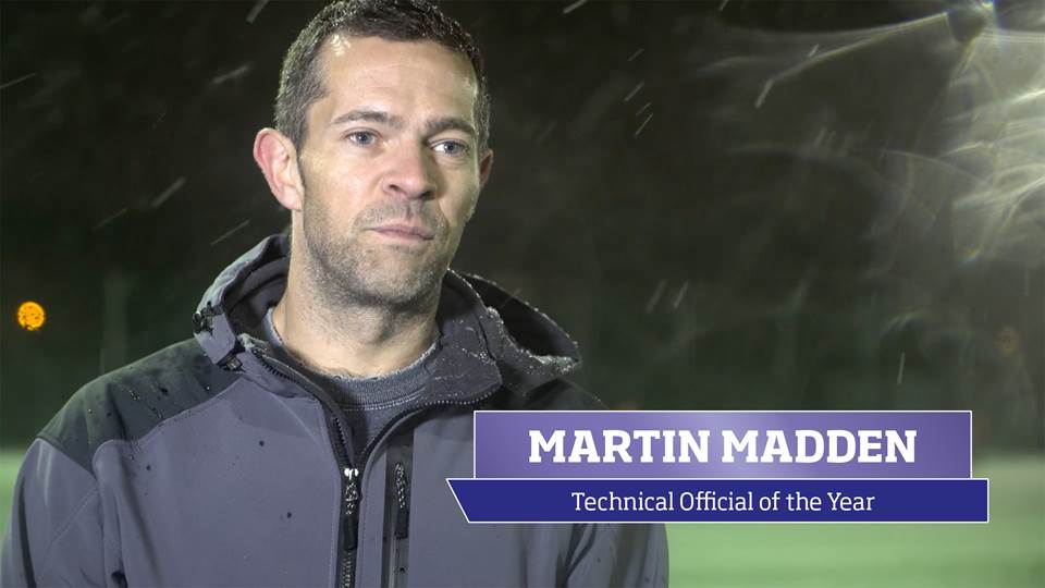 Martin Madden, 2016 sportscotland Technical Official of the Year