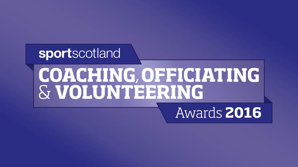2016 sportscotland Coaching, Officiating & Volunteering Awards
