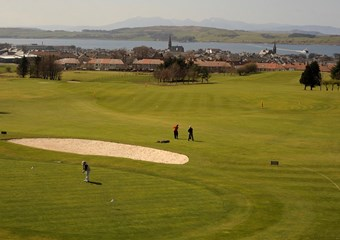 Golf at sportscotland national centre Inverclyde