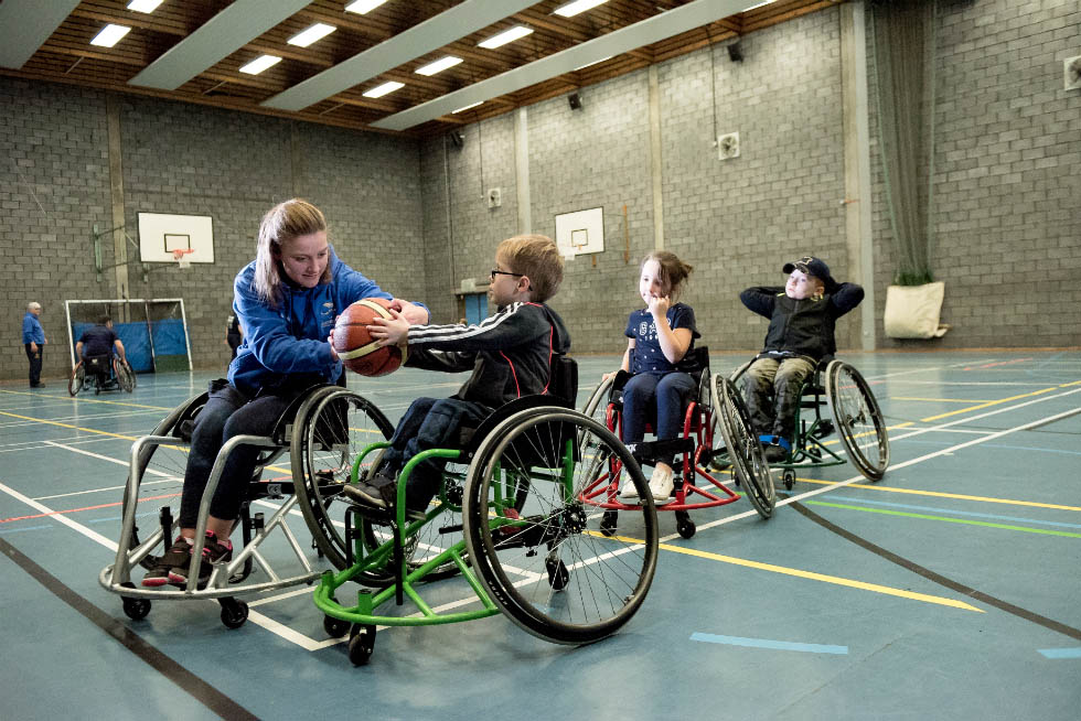 Wheelchair basketball benefits from the Inclusive Coach project