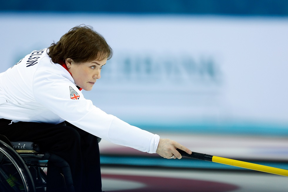 Wheelchair curling Aileen Neilson