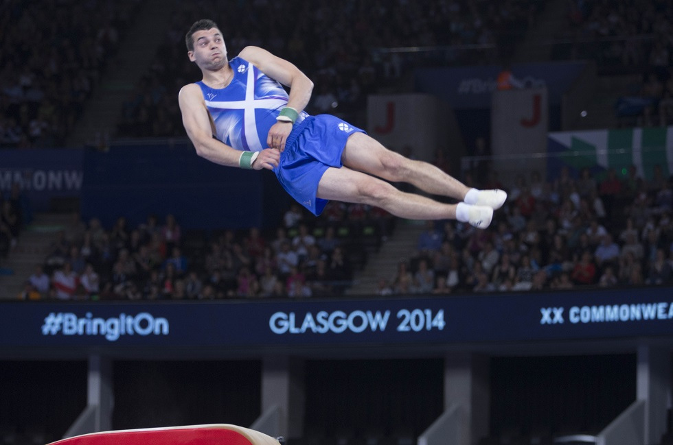 Team Scotland 2014 gymnastics