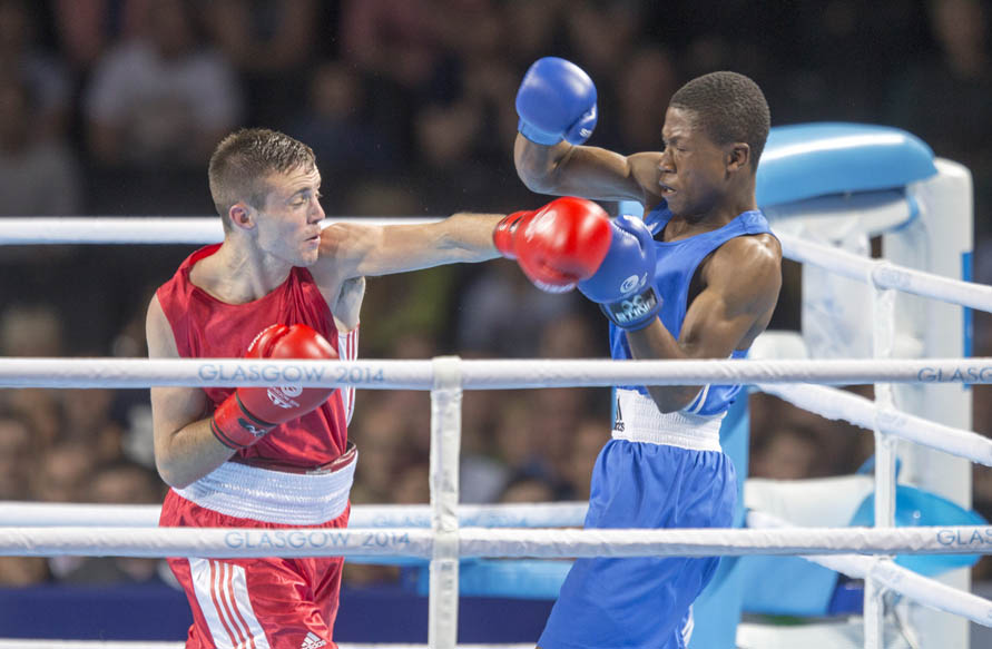 Team Scotland boxing