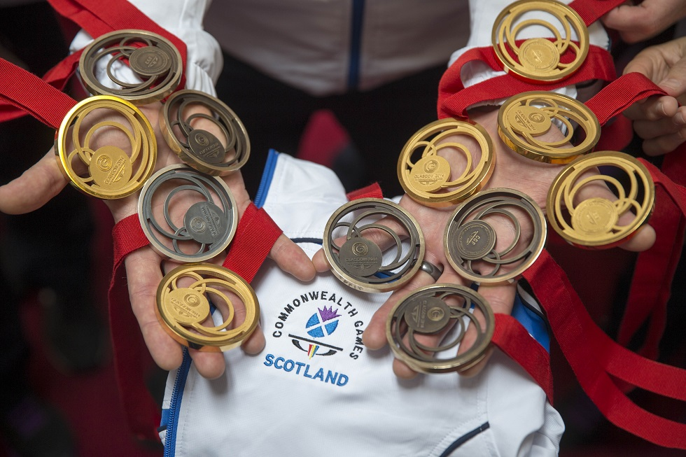 Team Scotland won a record medal haul at Glasgow 2014