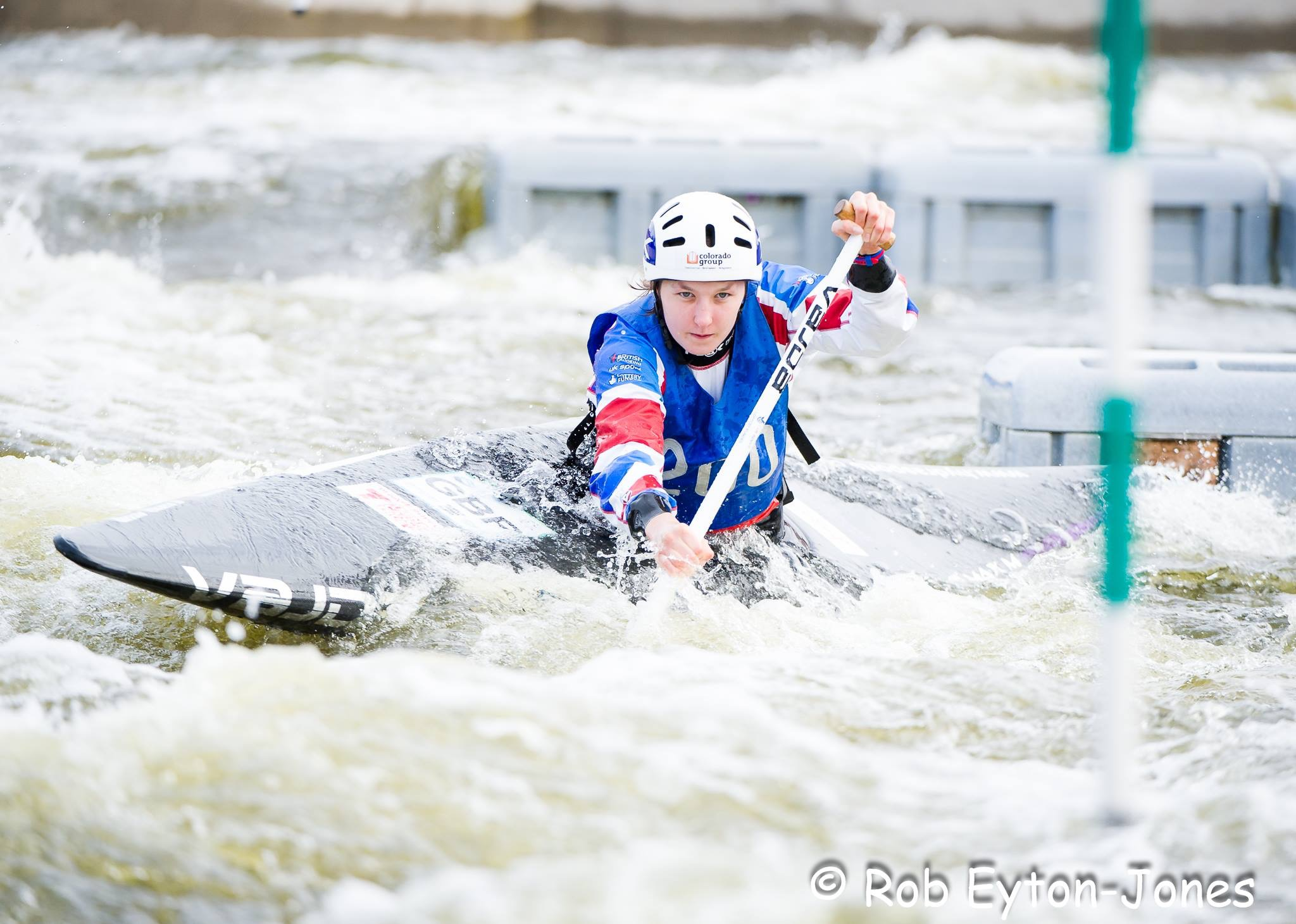 Eilidh at Pinkston Watersports