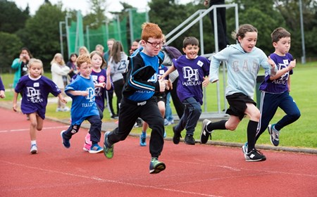 Pupils enjoy Active Schools Mini Olympics in Fife