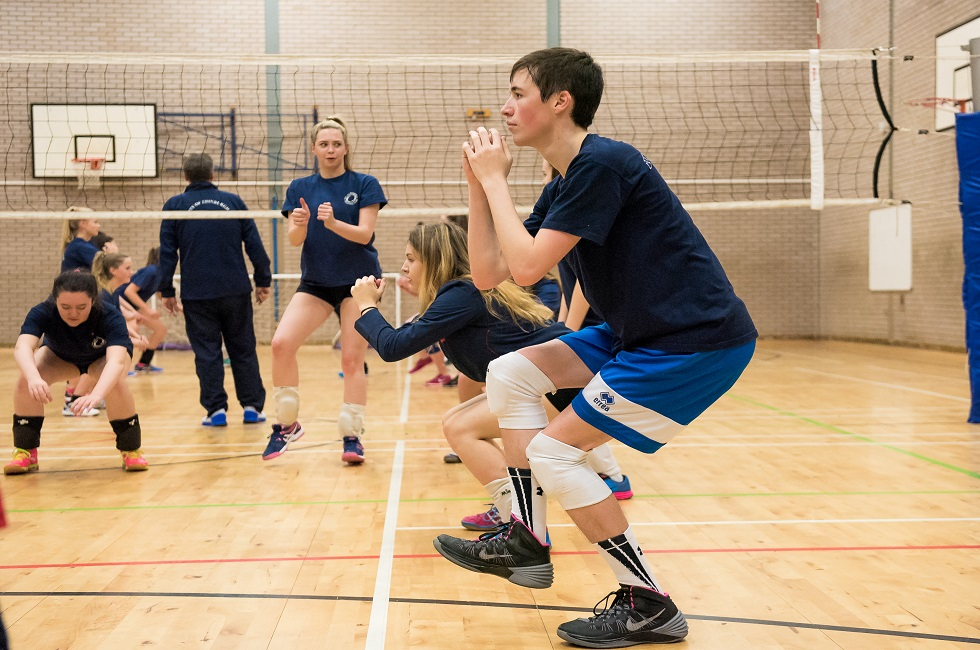 The City of Edinburgh Volleyball Club increased their participation levels by over 100 per cent in 18 months