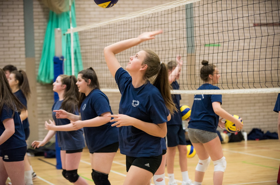 The City of Edinburgh Volleyball Club have taken inspiration from France and Finland