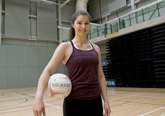 Scotland netball international Bethan Goodwin
