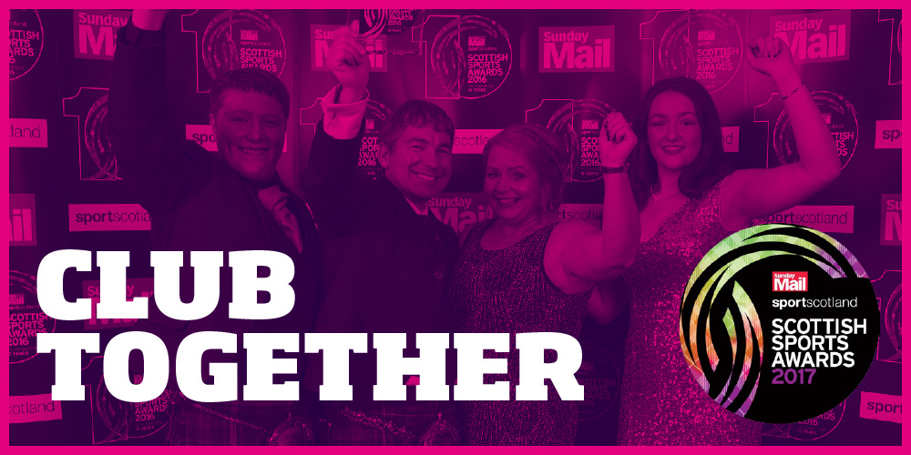 Club together: City of Edinburgh Volleyball Club at the 2016 Scottish Sports Awards