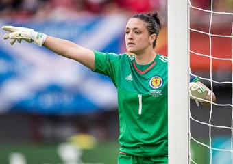 Gemma Fay captained Scotland's Women at the Euros