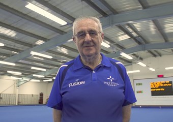 Robert Dick has received the Lifetime Achievement in Coaching award at the 2017 sportscotland Coaching, Officiating & Volunteering Awards