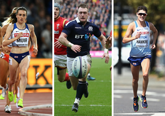Scottish Sports Awards 2017 finalists Laura Muir Stuart Hogg Callum Hawkins