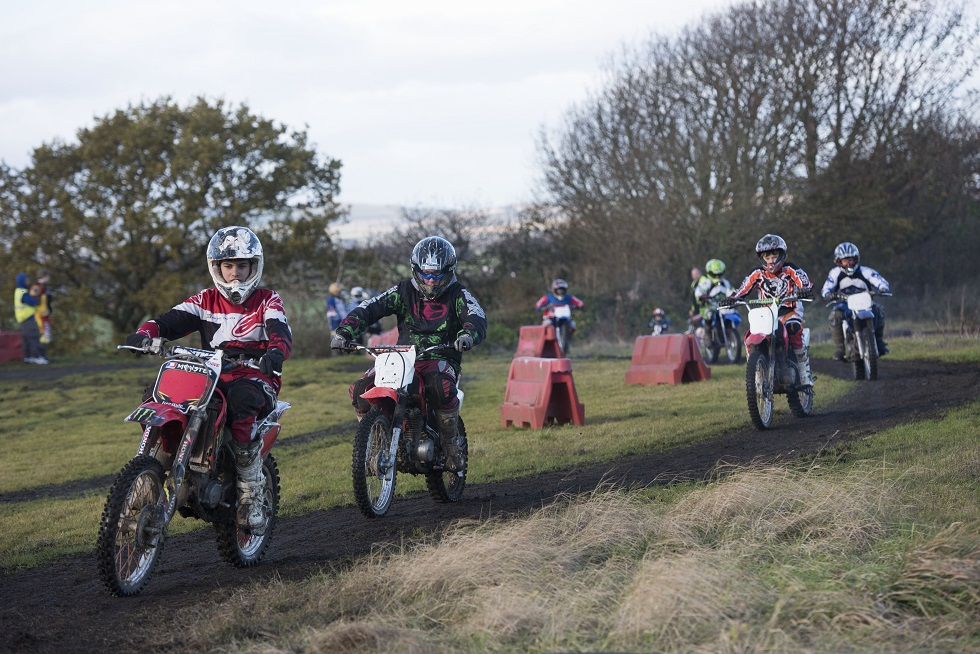 Riders get up to speed