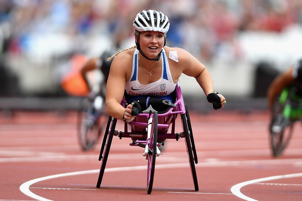Sammi Kinghorn stormed to two gold medals in London