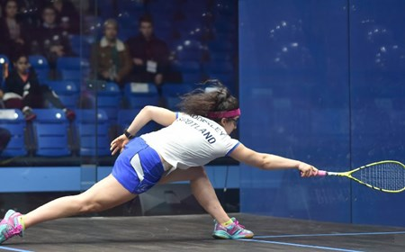 Georgia Adderley, Scottish Squash