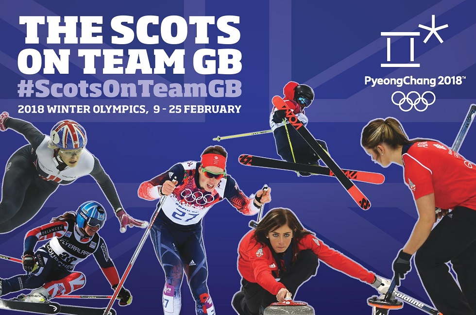 Watch out for our #ScotsOnTeamGB at the Winter Olympics 2018