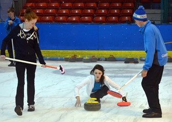 Scottish Curling starlet Rebecca Morrison
