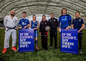 Scottish athletes came out in support of the new guidelines