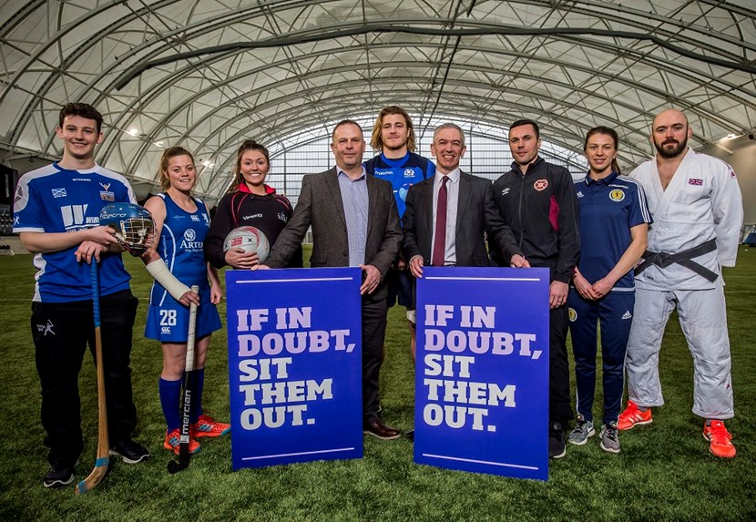 Will Cowie (shinty), Bex Condie (hockey), Samantha Murphy (netball), Peter Robinson (concussion campaigner), David Denton (rugby), Dr Gregor Smith (Scotland's Deputy Chief Medical Officer), Don Cowie (football), Lizzie Arnot (football), Sam Ingram (judo).