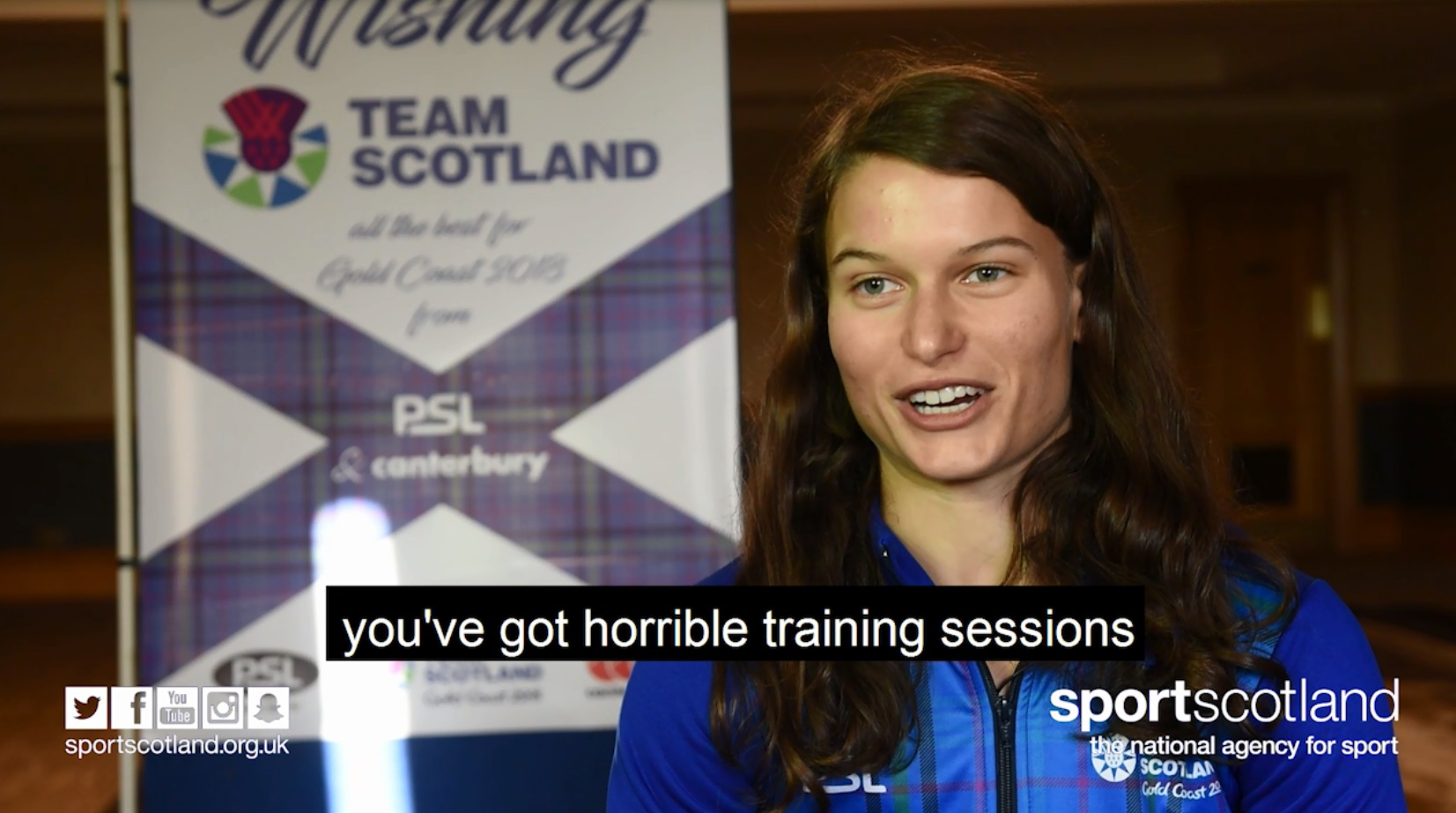 Team Scotland on sacrifices #AskAnAthlete