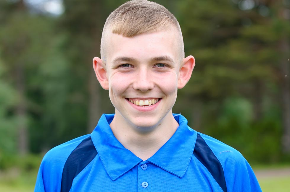 Rhys is a member of the sportscotland Young People's Sport Panel