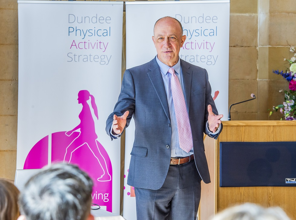 sportscotland chief executive Stewart Harris discusses Dundee's Physical Activity Strategy