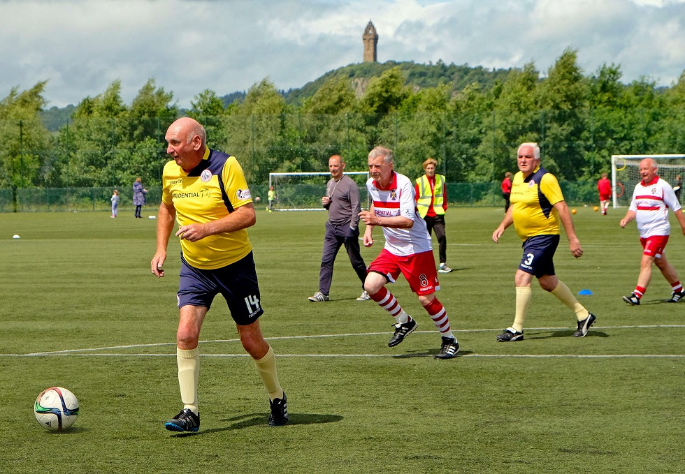 Walking football Stirling