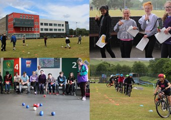 A selection of images from Kingussie High School and Community Sport Hub