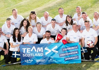 Gay Games Team Scotland Squad