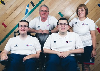 The McCowan family at sportscotland Inverclyde