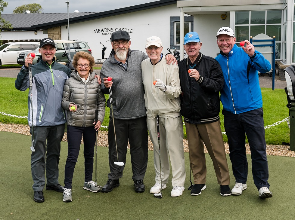 Mearns Castle Golf Club dementia group