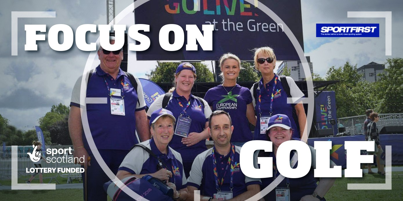 Focus on Golf group of volunteers at Go Live at the Green 2018