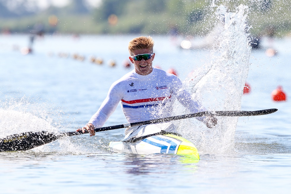 Ieuan James has benefited from the new performance coaching approach at Scottish Canoeing