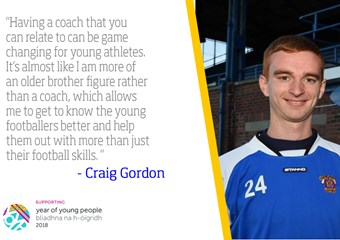 Craig Gordon, football coach