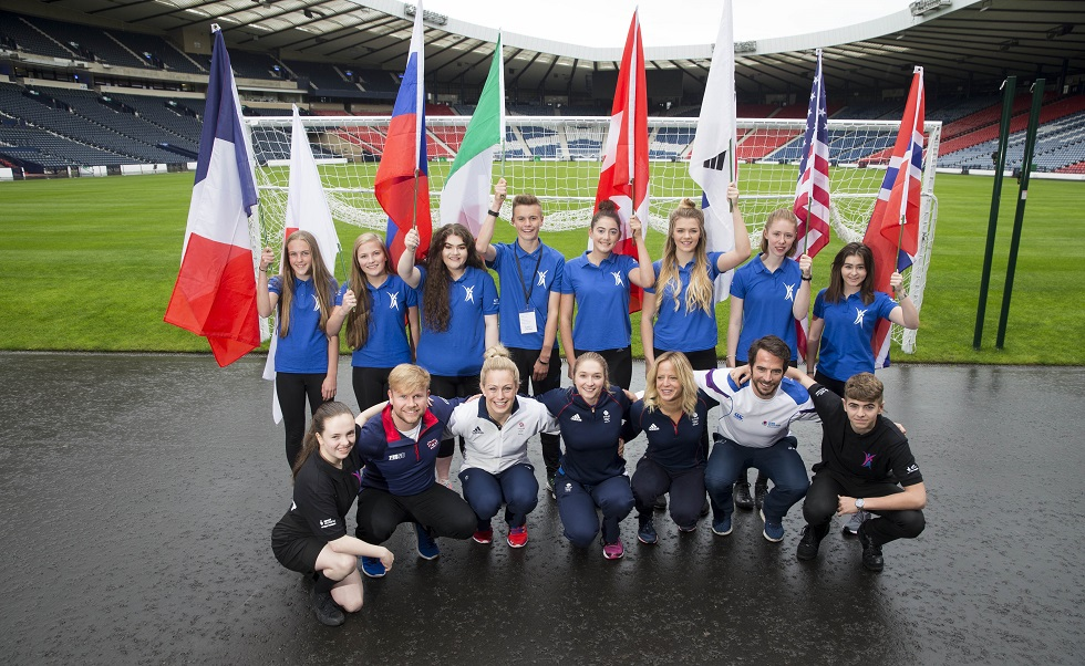 Young Ambassadors conference at Hampden Park