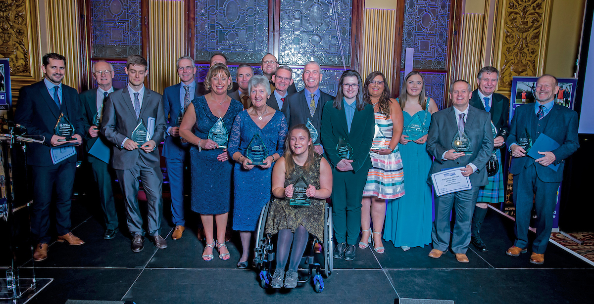 COV Award Winners 2018 - Group Photo