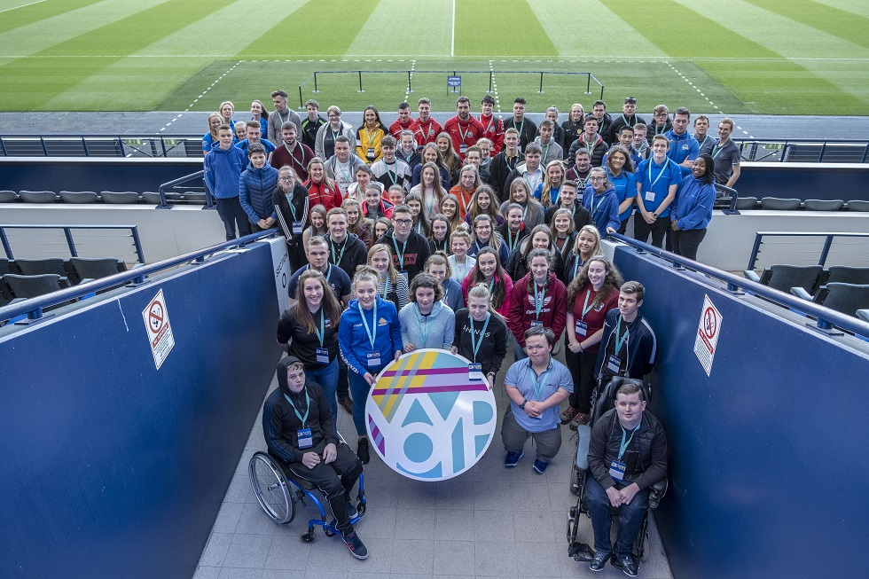 Lead the Way sportscotland event at Hampden Park