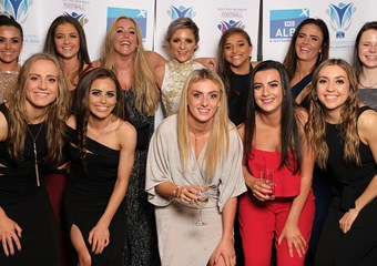 Women's Football Awards - Group Photo