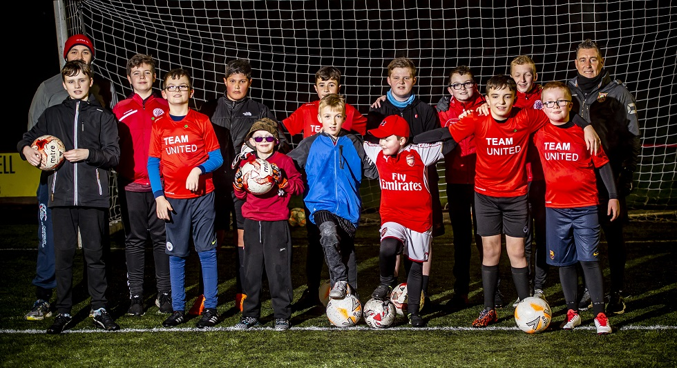 Team United provide football opportunities for people with autism in Broxburn