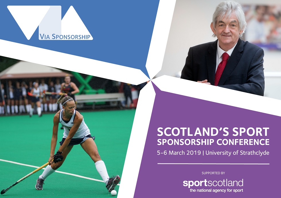 The Via Sponsorship conference is coming to Glasgow in March 2019