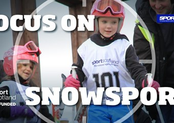 Focus on snowsports graphic