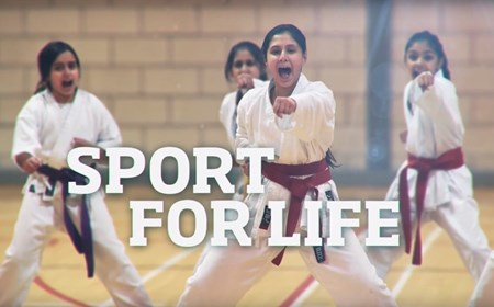 Sport For Life: karate girls