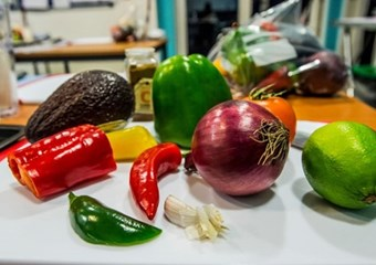 A selection of vegetables from sportscotland's performance nutrition team