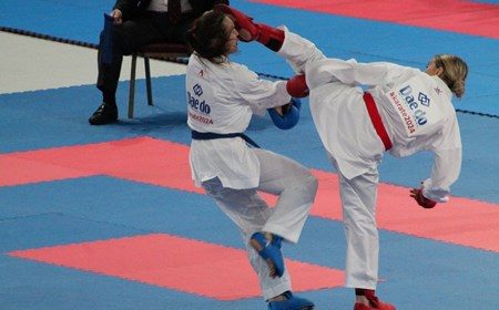 Amy Connell is a Scottish karate champion