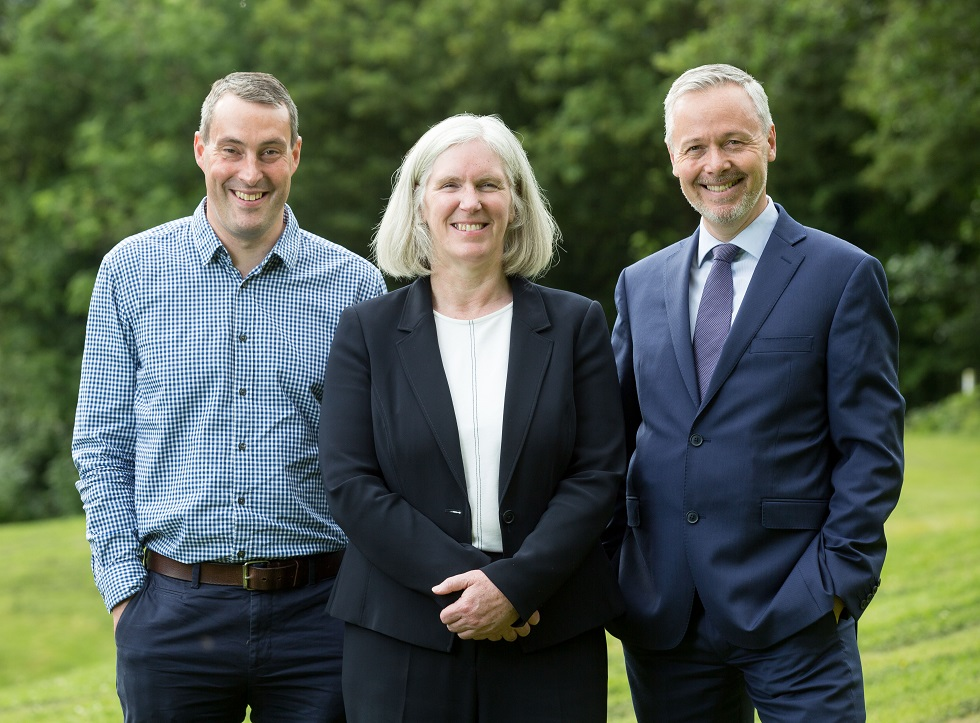 Mark Munro, Maureen Campbell OBE and Scott Lindsay join the sportscotland Board