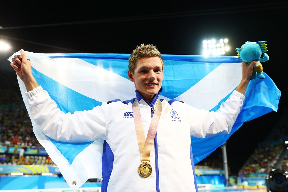 Duncan Scott has won medals at Commonwealth and European level