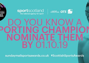 Scottish Sports Awards 2019 nominate now